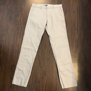 Gap khakis tailored straight fit size 32X 34